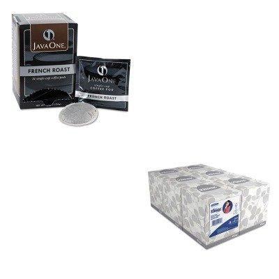 KITJAV30800KIM21271 - Value Kit - Java Trading Co. Coffee Pods (JAV30800) and KIMBERLY CLARK KLEENEX White Facial Tissue (KIM21271)