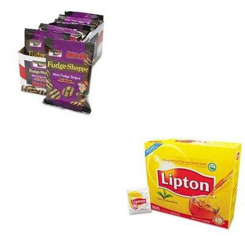 KITKEB21771LIP291 - Value Kit - KEEBLER COMPANY Mini Cookies (KEB21771) and Lipton Tea Bags (LIP291)