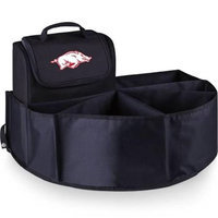 Picnic Time 715-00-179-034-0 University of Arkansas Digital Print Trunk Boss in Black with Cooler