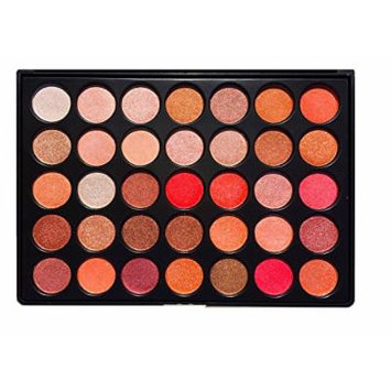Beauty Box The Artist Eyeshadow Palette, 35 COLORS, Sunset Shimmer Collection