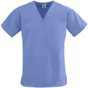Medline ComfortEase Ladies V-Neck Two-Pocket Scrub Top