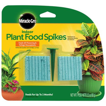 Scottsmiracle-gro Miracle-Gro Indoor Plant Food Spikes, 2.2 oz, 48 Spikes