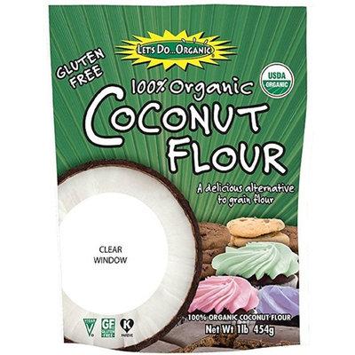 Let's Do Organic Coconut Flour, 16-Ounce Pouches