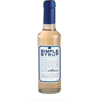 Stirrings Simple Cane Sugar Cocktail Syrup, 12 Oz | Pack of 1