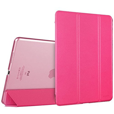 iPad Pro 9.7 Case, ESR® iPad Pro 9.7 Smart Case Cover [Synthetic Leather] and Translucent Frosted Back Magnetic Cover with Sleep / Wake Function [Ultra Slim] [Light Weight] for Apple iPad Pro 9.7 inch Case [Launched 2016]