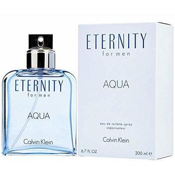 C'K' Eternity AQUA MEN by Ca vin K ein Eau De Toilette Spray, EDT 6.7 fl oz, 200 ml
