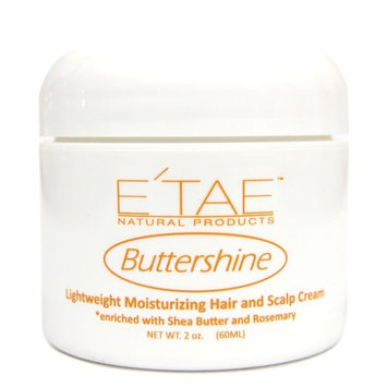 E'TAE Natural Products - Buttershine Moisturizing Hair and Scalp Cream 2oz