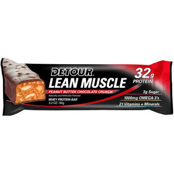 Forward Foods - Detour Lean Muscle Bar Peanut Butter Chocolate Crunch - 3.2 oz.