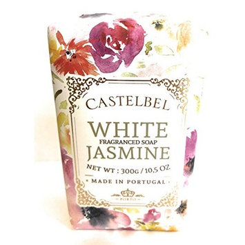 Castelbel White Jasmine Luxury Soap Bar 10.5 Oz