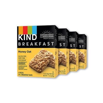 KIND Breakfast Bars, Honey Oat, Gluten Free, Non GMO, 1.8oz, 16 Count [Honey Oat]