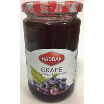 Haddar Grape Preserves, 12 Oz