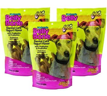 Fido Pet Products Fido Belly Bone Yogurt Dog Bone - Small 13ct (Pack of 3)