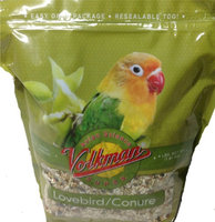 Volkman Seed Avian Science Super Lovebird Conure Nutritionally Balanced 4lbs