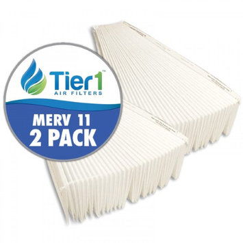 Tier1 Aprilaire 401 Replacement Air Filter For Model 2400 Air Cleaners (Pack of 2)