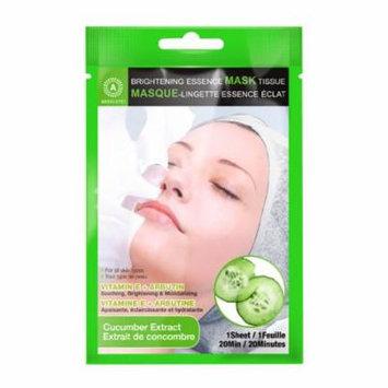 (6 Pack) ABSOLUTE Brightening Essence Mask - Cucumber