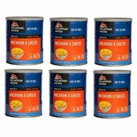 Mountain House Freeze Dried Food Macaroni & Cheese-6 Cans Combos