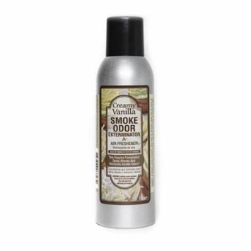 Smoke Odor Exterminator Removes Smell 7oz Spray Air Freshener, Creamy Vanilla