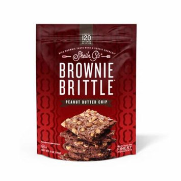 Sheila G's Brownie Brittle Peanut Butter Chip Cookie Snack Thins, 5oz