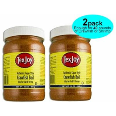 Texjoy Authentic Cajun-style Crawfish Boil (2 Pack) Two 32oz Containers