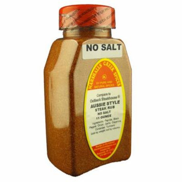 Marshalls Creek Spices AUSSIE STYLE STEAK RUB, No Salt, Compare to OUTBACK STEAKHOUSE®