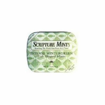 Candy-Scripture Mints Pocket Tin-Winter (Sugar Free) (Pack of 9)