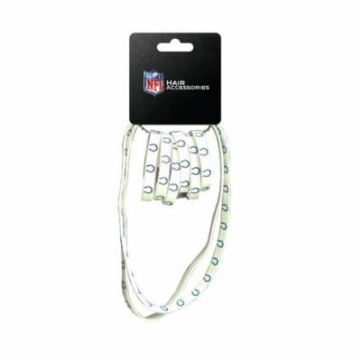 NFL Indianapolis Colts Hair Accessory 6-Elastic Ponytail Bands and 2-Elastic ...