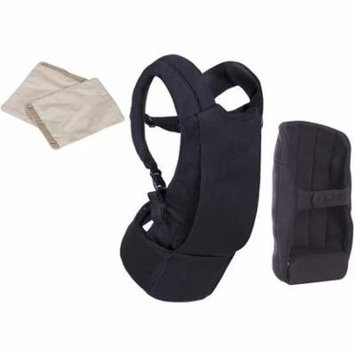 Mountain Buggy Juno Baby Carrier in Black with Teething Pad - Sand