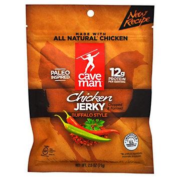 Caveman Foods Chicken Jerky, Buffalo Style, 2.5 Ounce