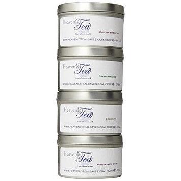 Heavenly Tea Leaves Tea Sampler, Organic, 4 Count [Organic]