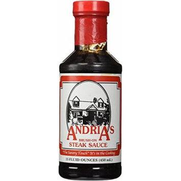 Andrias Brush on Steak Sauce(Pack of 6)