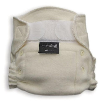 Organic Caboose 1201 Organic Aplix Fitted Diaper- Pack of 2