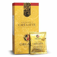 10 Box of Organo Gold Gourmet Cafe Latte Coffee With Ganoderma Lucidum (1 Box of 20 Sachets)