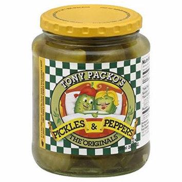 Tony Packos Original Pickles & Peppers - 24oz