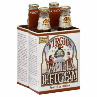 Virgils Soda Cream Zero 4Pk 48 Fo (Pack of 6) - Pack Of 6