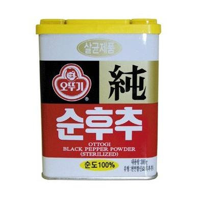 Ottogi Black Pepper Powder 100g (Pack of 2)