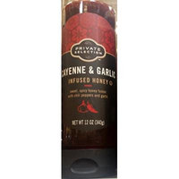 Private Selection Cayenne & Garlic Infused Honey 12 oz (Pack of 2)