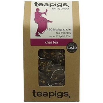 (3 PACK) - Teapigs Chai Tea Temples| 50 Bags |3 PACK - SUPER SAVER - SAVE MONEY