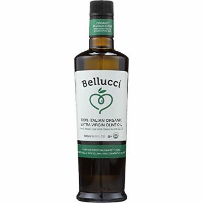 Bellucci Premium Olive Oil - USDA Organic - Premium Extra Virgin - 500 ml - Case of 6