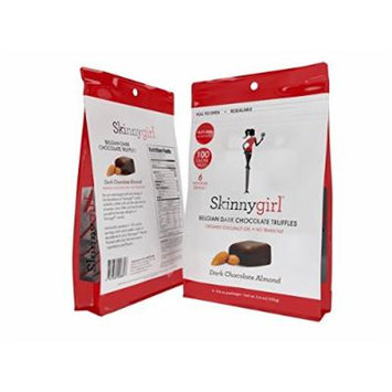 Skinnygirl Candy Products, Truffles, Gummies, Almonds (2 Pack) (Dark Chocolate Almond)