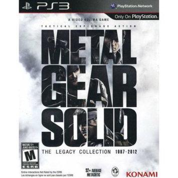 Konami Digital Entertainment Konami 20272 Metal Gear Solid Legacy Ps3