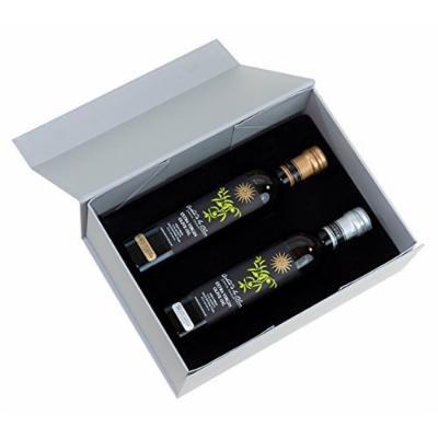 QO Gourmet Extra Virgin Olive Oil Duo Gift Set of 2 , 8.5 fl-oz (250 ml) each