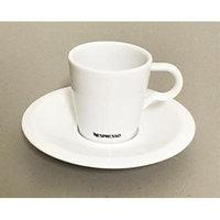 Nespresso Espresso, Professional Cup and Saucer, Porcelain