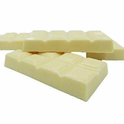 Philadelphia Candies Break-Up Block for Baking / Melting, White Confectionery Coating 1 pound (2-Ounce Bars, Pack of 8)