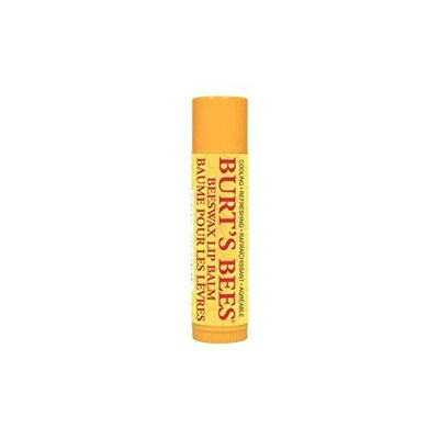 Burt's Bees Beeswax Lip Balm Tube (Pack of 6)