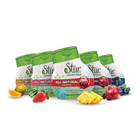 Stur Liquid Water Enhancer, Variety Pack, 1.62 Fl Oz (Pack of 5)
