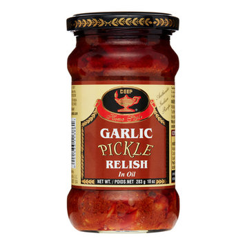 Deep Garlic Pickle, 10 Oz