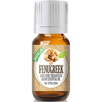 Healing Solutions - Fenugreek Oil (10ml) 100% Pure, Best Therapeutic Grade Essential Oil - 10ml