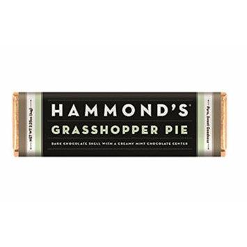 Hammonds Gourmet Chocolate Bar – Kosher – 6 Pack – 2.25 oz each (Grasshopper pie dark)