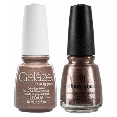 China Glaze Gelaze Tips and Toes Nail Polish, Swing Baby, 2 Count