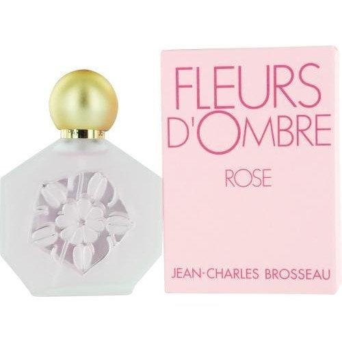 Fleurs D'ombre Rose Eau De Toilette Spray for Women by Jean Charles Brosseau, 3.4 Ounce
